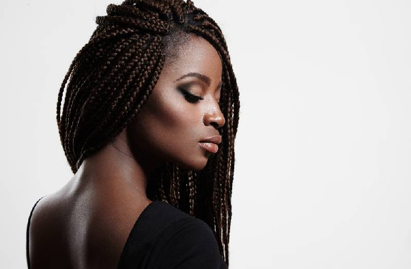 How to easily wash braided hair while at home