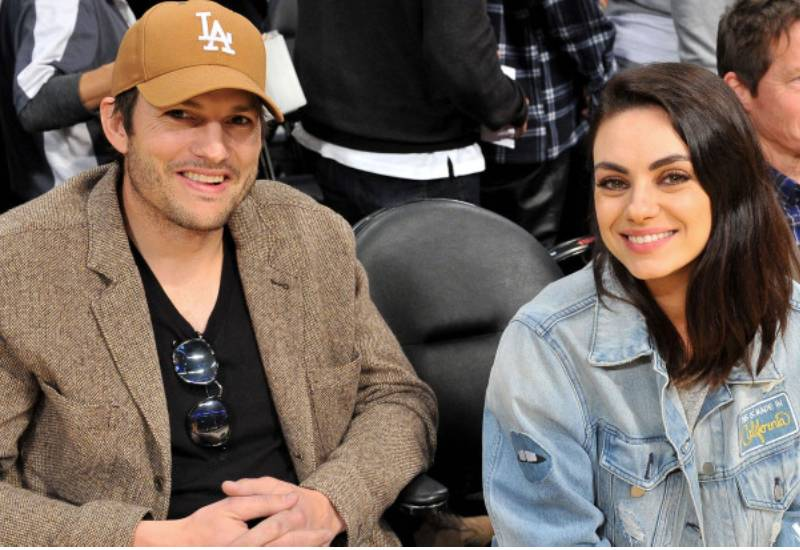 If you see dirt, clean them: Ashton Kutcher and wife share on bathing their kids