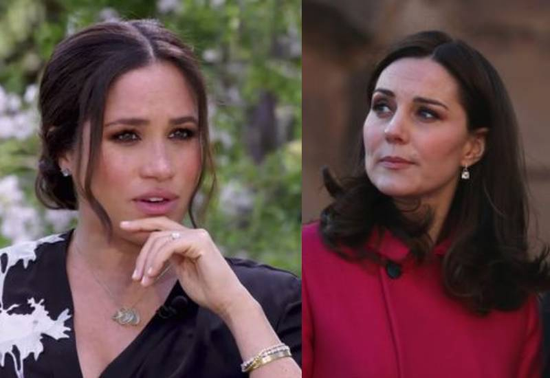 Kate Middleton 'saddened' by Meghan Markle saying she made her cry