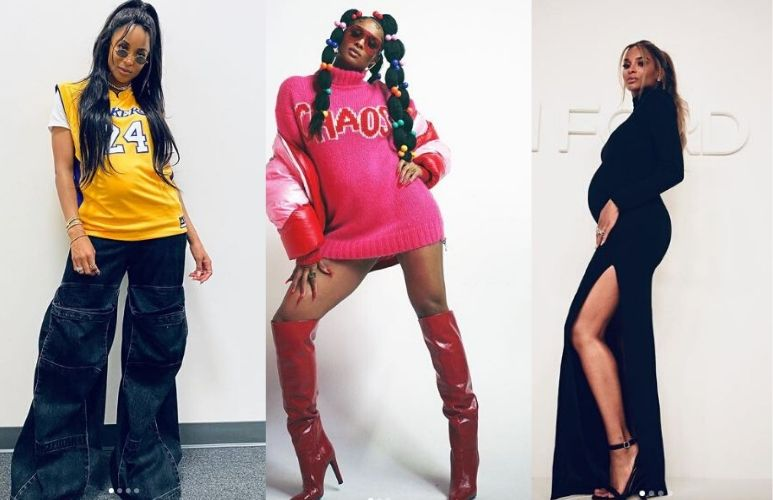 Ciara sets fashion goals with her out-of-the-box maternity style