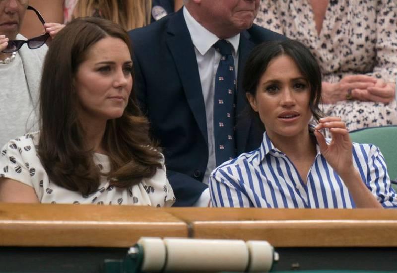 Meghan Markle 'slammed door in Kate Middleton's face' after she 'made her cry'