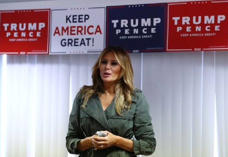 Melania Trump admits she doesn't 'always agree' with how Donald Trump says things