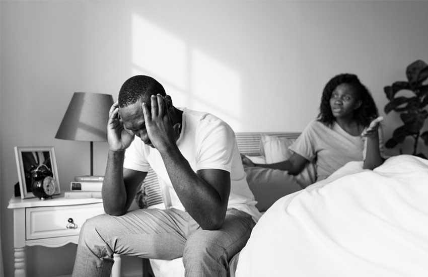 Men too experience hormonal imbalance