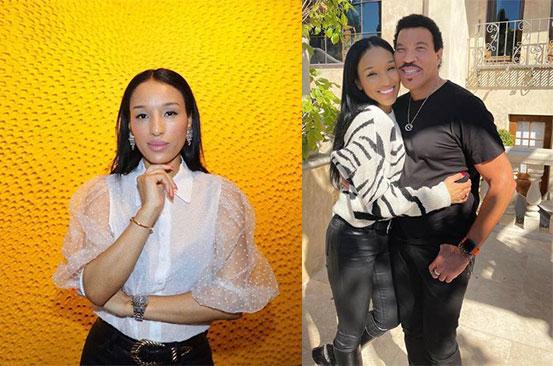 Netizens go wild over Lionel Richie's much younger girlfriend
