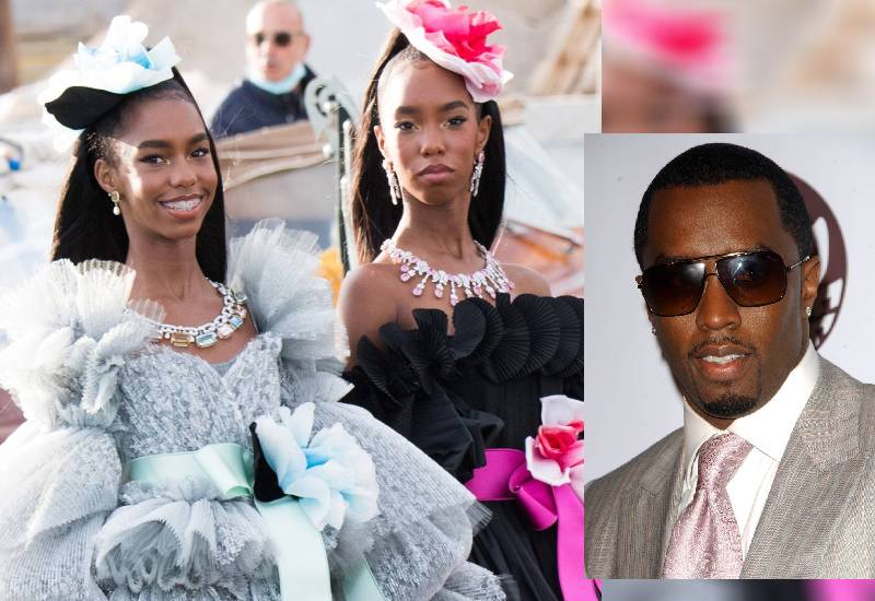 P Diddy's twins make their runway debut in Venice