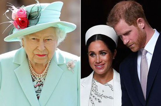 Queen 'sent Harry personal Megxit email - before she knew about Oprah interview'