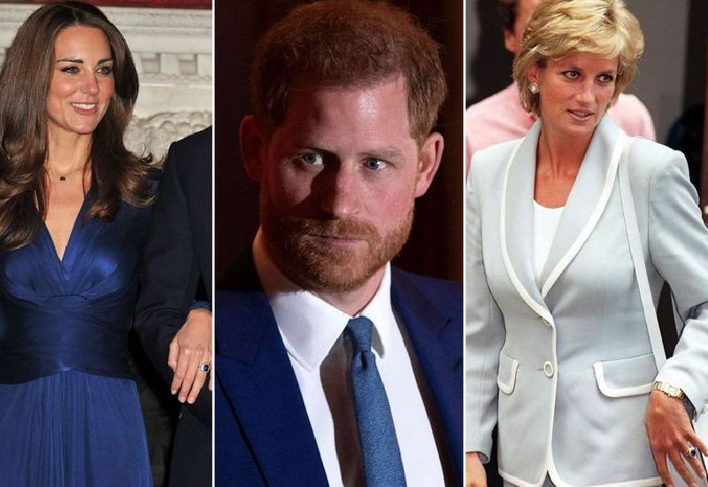 Selfless Prince Harry gave up Diana's engagement ring so Kate Middleton could have it