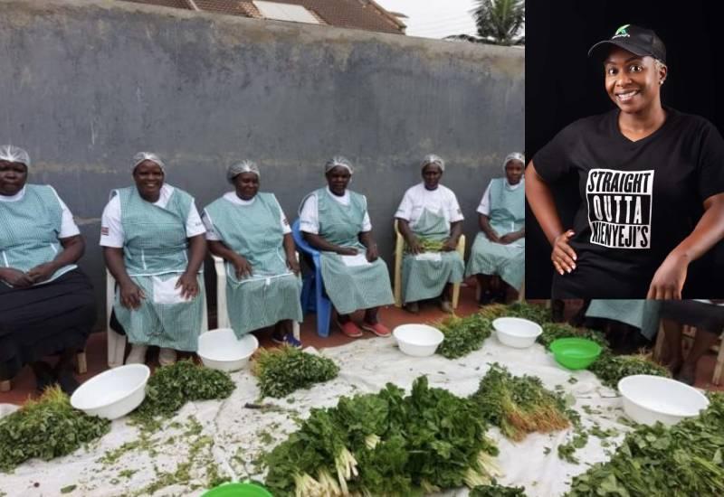 Selling 'mboga kienyeji' gave me a fresh start in business