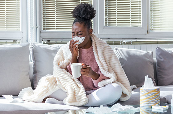 Seven foods that can help get rid of a runny nose
