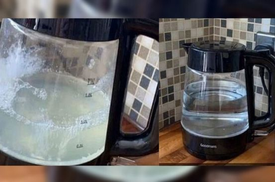 Simple hack to remove limescale from kettles without buying cleaning products