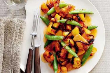 Slimming World recipes: Mango glazed chicken