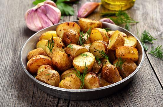 The secret to 'perfect' roast potatoes with crispy skin