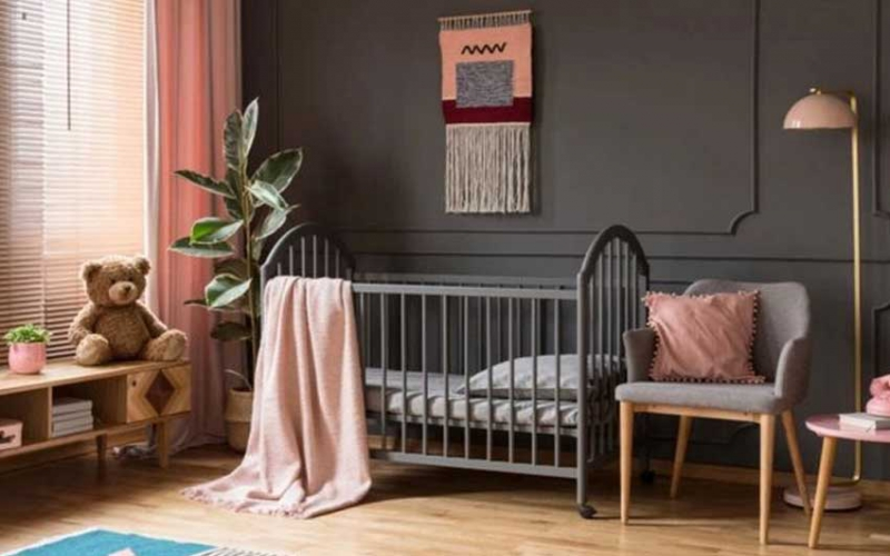 Did you know baby's nursery colour 'influences future career' - and black is the best choice?