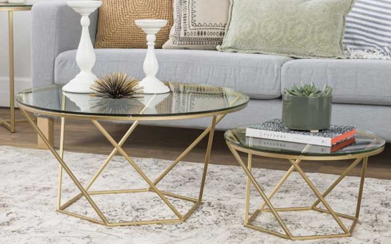 Five ways to use a glass coffee table