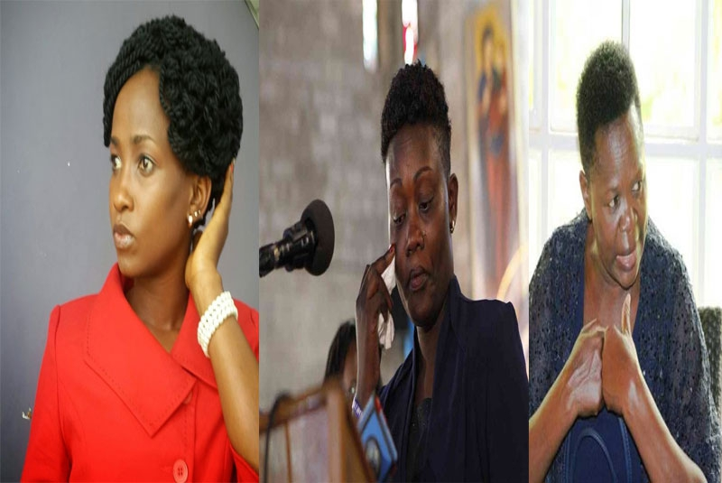 Wives whose prominent husbands were caught up in love triangles