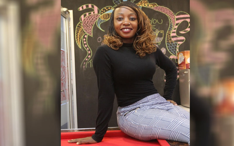 Hardship threatened to drown her but Moesha found reprieve in dance