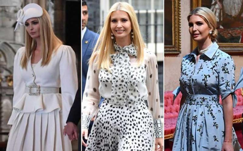 Ivanka Trump spends Sh2 million on UK visit wardrobe 'in bid to outshine Melania'