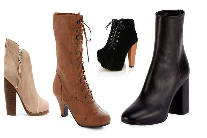 Kick out the cold in heel boots!
