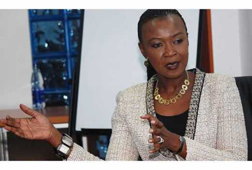 Kidero's wife to serve as an international advisor for a firm in Washington DC