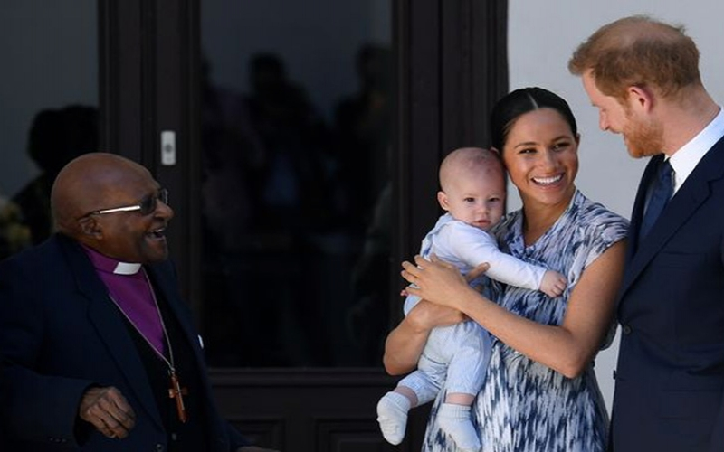 Meghan Markle told Archie is 'going to be ladies' man' as he charms at debut royal event