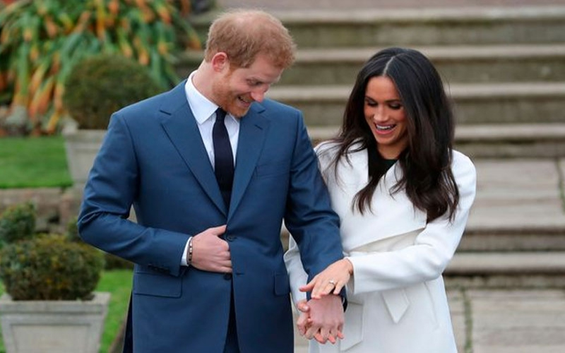 Meghan Markle 'touched' by eternity ring Harry got her - and it has hidden secret
