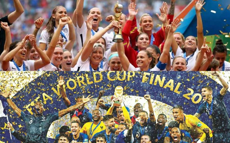 $38 million and $4 million: The saddening pay gap in the women's and men's World Cups