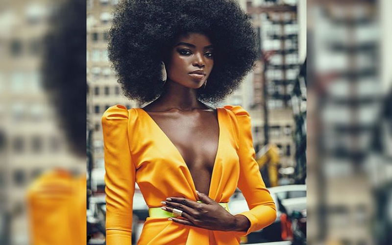 #WCW: Maria Borges, the first African model to rock natural hair at a Victoria's Secret Show