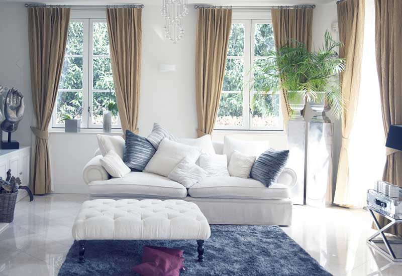 How To Decorate A Living Room With One Big Window Eve Woman