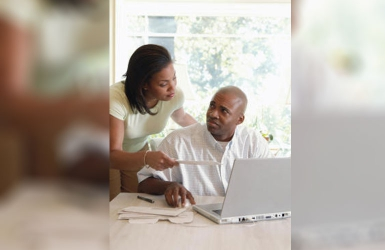 What to do when you earn more than him