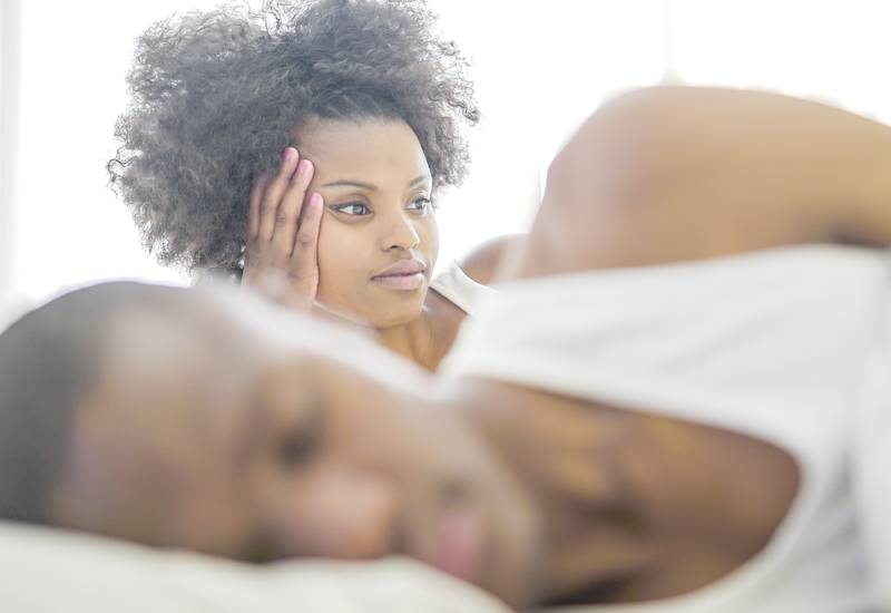Why your man is scared to get between the sheets with you