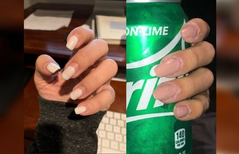 Women in coronavirus lockdown are doing their own manicures - with interesting results
