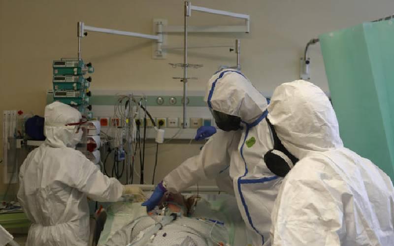 135 Covid-19 patients in ICU, 64 in HDU