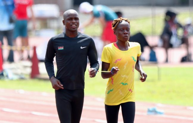 1500m Class T12 and T13 Heats: Munialo in action in 1500m T12 at 4:03pm at Paralympics Games