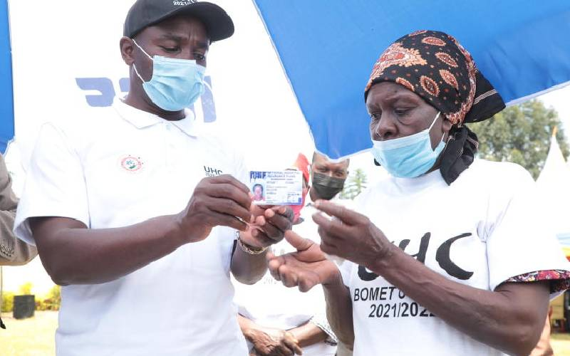 8,667 to benefit from Sh60 million medical cover in Bomet