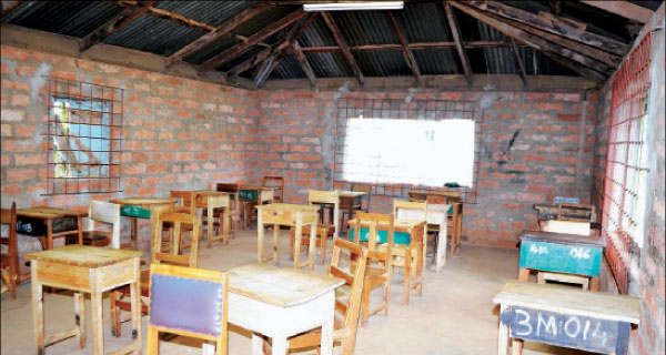 One of the buildings that were used to torture Mau Mau freedom fighters that has been converted into a classroom at Mweru High school in Nyeri County.  [PHOTO: MOSE SAMMY/STANDARD]