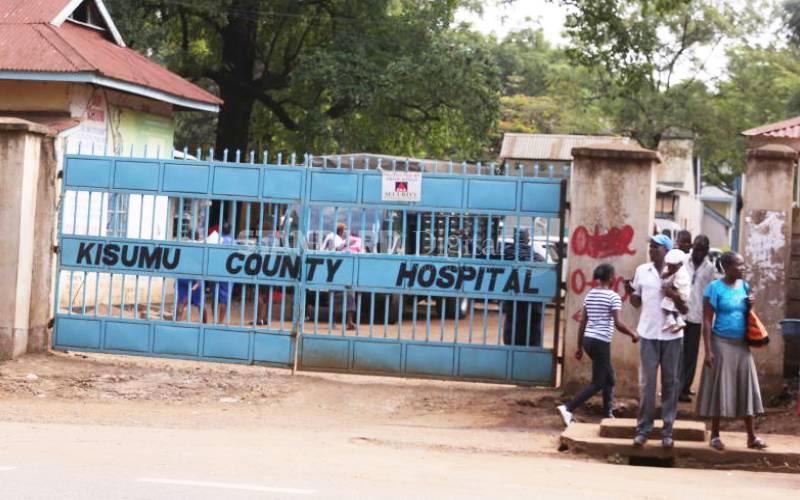 Man dies while queuing at Kisumu hospital