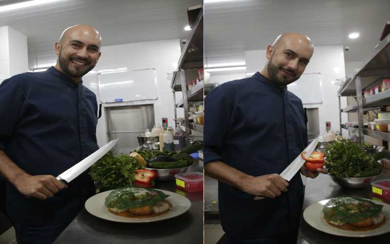 Meet the chef who believes it's evil to waste food