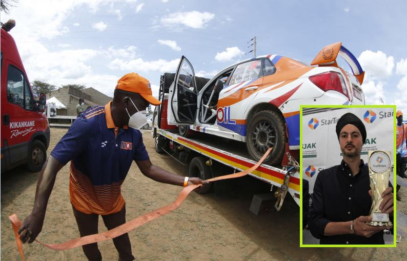 ARC Equator Rally: Triple Africa champion Manvir Baryan conspicuously missing in action
