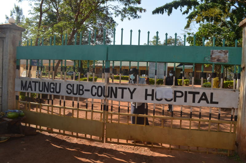 Are patients stealing mosquito nets from a hospital in Kakamega?