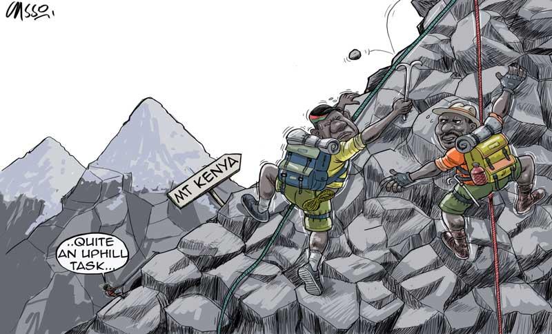 Battle for Mt Kenya