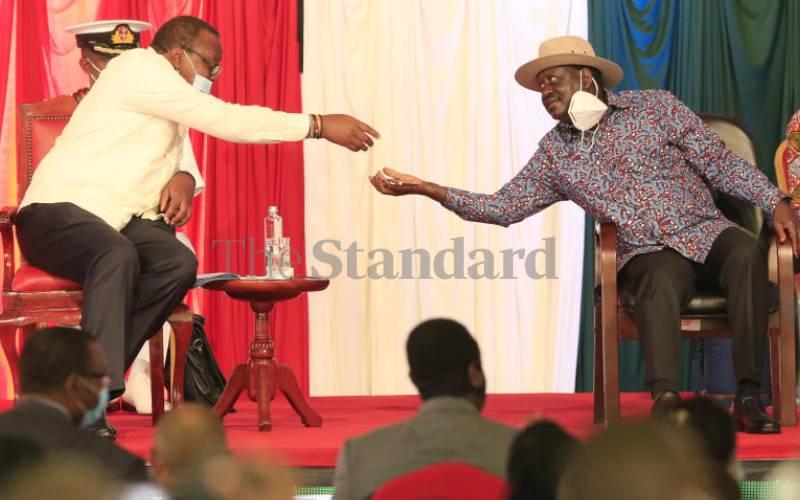 BBI: Uhuru, Raila back to drawing board
