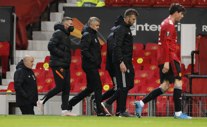 Manchester United 6-2 AS Roma: Solskjaer gives update on Cavani future : The standard Sports