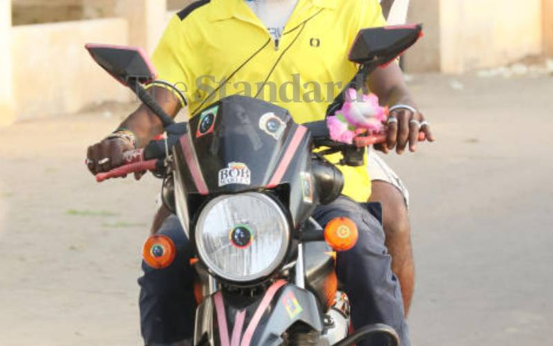Boda boda, a growing source of income for many