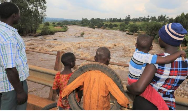 Body of mother who plunged her three children in R Nzoia found
