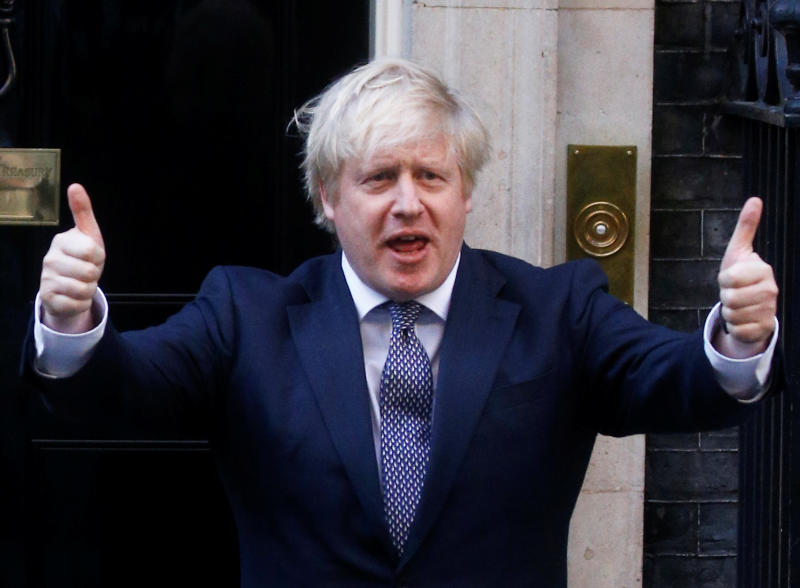 British PM Boris Johnson announcement heralds a return to competitive golf