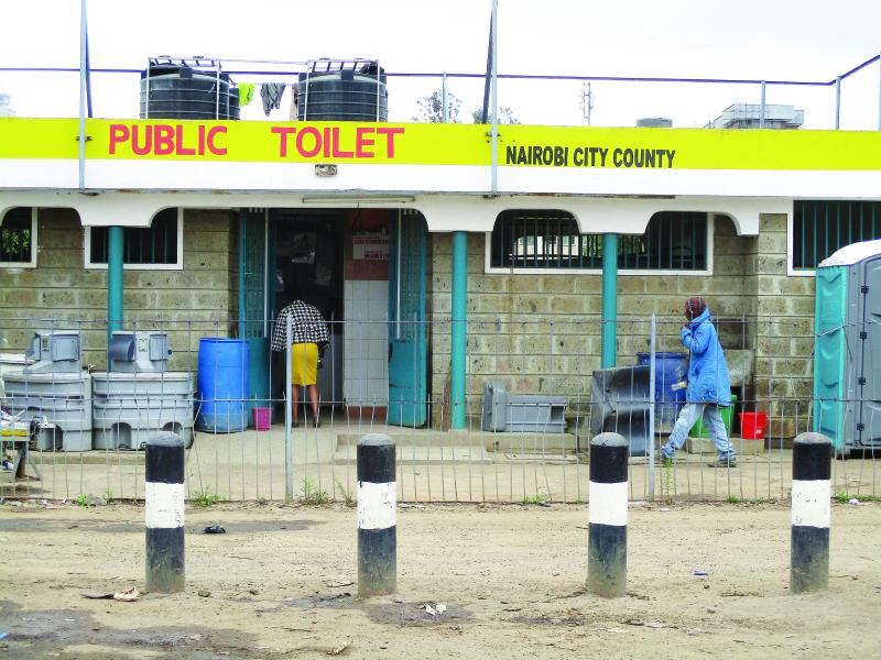Cartels not ready to surrender money minting public toilets