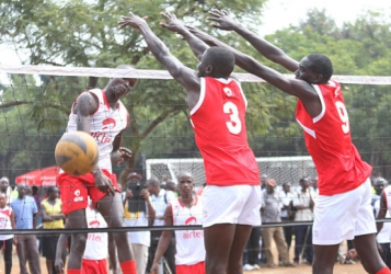 Clash of titans in volleyball final