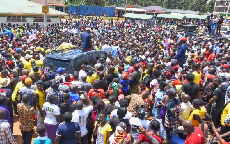 Come out and seek votes, Ruto tells rivals