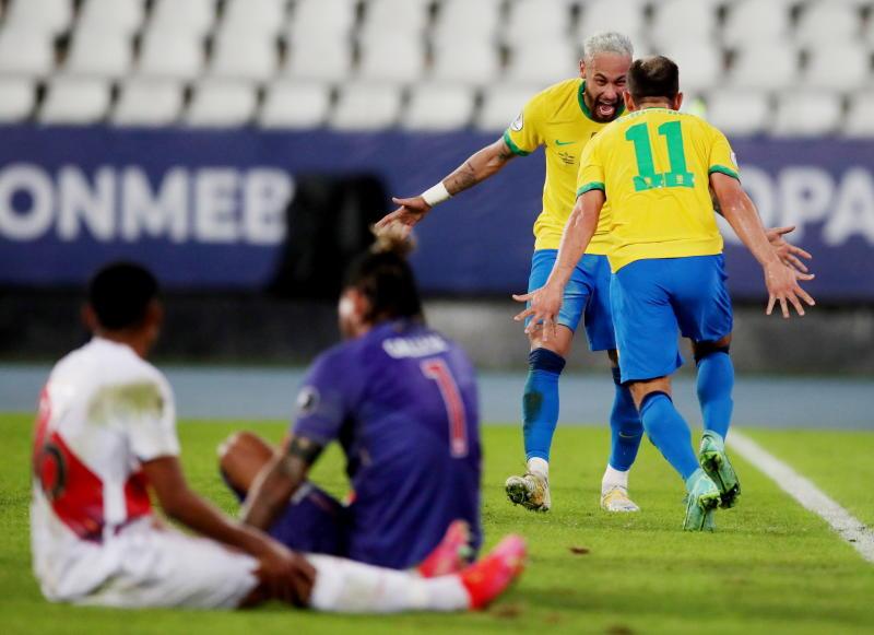 Copa America: Neymar scores again to edge closer to Pele's Brazil record