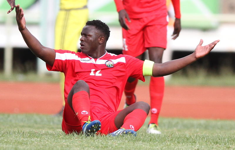Could this be the end of Victor Wanyama's stint with Harambee Stars?